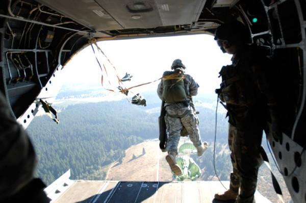 airborne training page