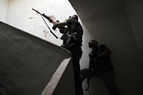 SYRIAN: FREE SYRIAN ARMY BATTLE FOR ALLEPO